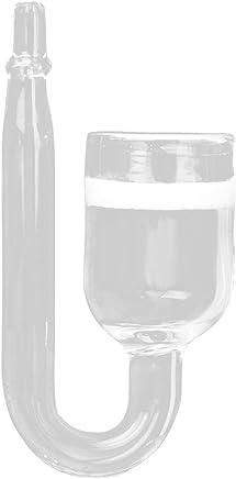 Fisch Aquarium CO2 Diffusor Glas Kohlendioxid Reaktor mit Keramikscheiben