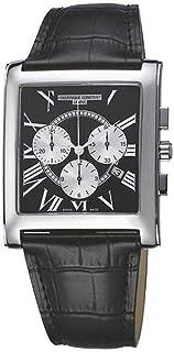 Frédérique Constant Men's Chronograph Swiss Quartz Watch with Leather Strap FC-292BS4C26