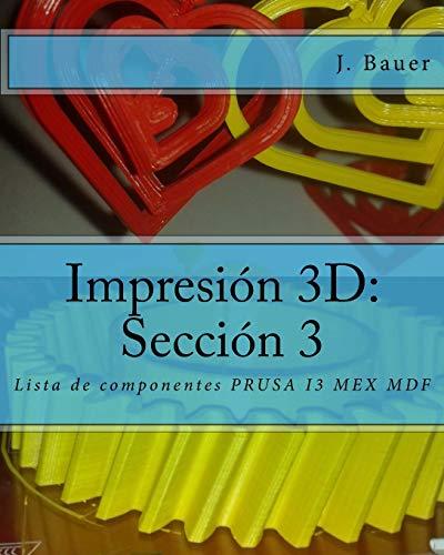 Impresión 3D: Lista De Componentes Prusa I3 Mex Mdf