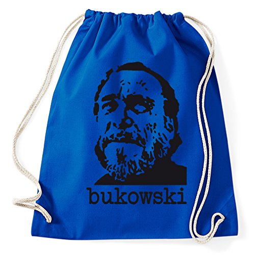 Styletex23 Charles Bukowski Buk gymtas sporttas