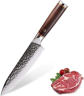 Couteau de cuisine à la main Forged inoxydable Couteau en acier Chef de Tranchelard Couteau de cuisine Couteau de cuisine ...