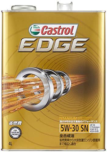 カストロール エンジンオイル EDGE 5W-30 4L 4輪ガソリン/ディーゼル車両用全合成油 SN/CF/GF-5 Castrol