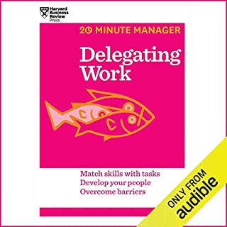 Delegating Work audiobook cover art