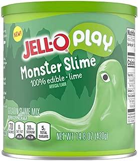JELL-O Play Monster Edible Slime Gelatin Dessert Kit (14.8 oz Tin)