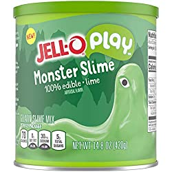 JELL-O Play Monster Edible Slime Gelatin Dessert Kit (14.8 oz Tin)