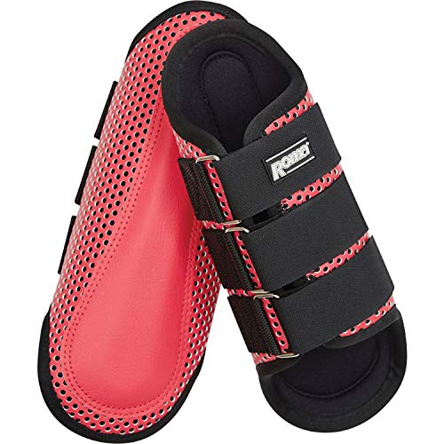 Roma Air Flow Shock Absorber Splint Brushing Boot Full Size Pink