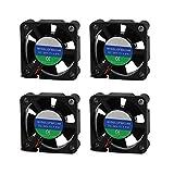 BliliDIY 4Pcs Um2 + 24V 3010 Mini Ventilador De Refrigeración por Calor para Impresora 3D