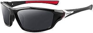 Occhiali da Sole Sportivi polarizzati Occhiali da Sole Estivi da Esterno Occhiali di Protezione UV per Uomo Donna Ciclismo...