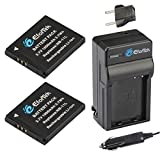 NB-11L/NB-11LH Efortek Battery (2-Pack) and Charger Kit for Canon PowerShot A2300 IS, A2500, A2600, A4000 IS, ELPH 110 HS, ELPH 130 HS, ELPH 135 IS, ELPH 160, SX40