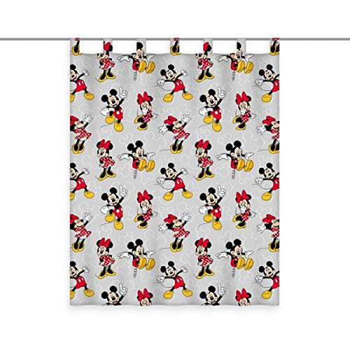 Disney - Cortina (140 x 160 cm), diseño de Minnie y Mickey