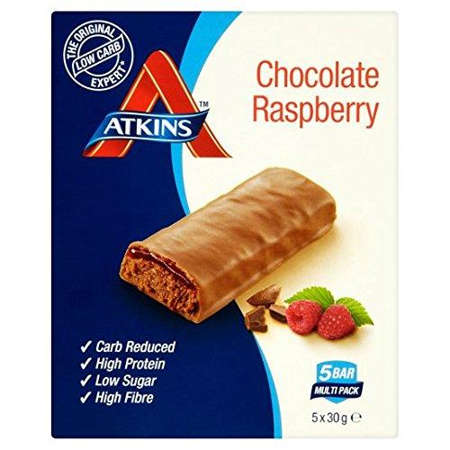 Atkins Chocolate Rasperry Bars 150g