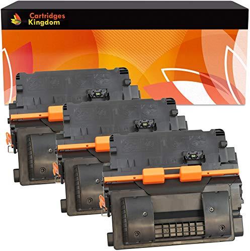 Cartridges Kingdom 3-er Pack Toner kompatibel zu HP CC364X 64X für HP Laserjet P4015, P4015n, P4015dn, P4015tn, P4015x, P4515, P4515n, P4515tn, P4515x, P4515xm