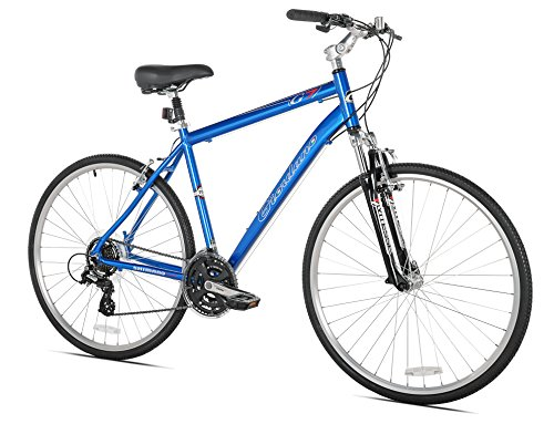 Giordano G7 Men's Hybrid Bike, 700c, Large