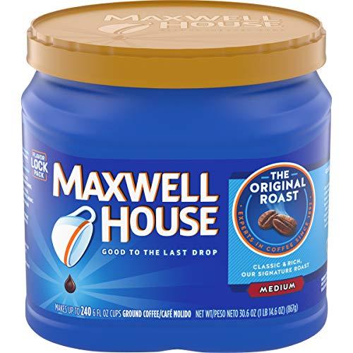 Maxwell House Original Medium Roast Ground Coffee 306 oz Canister