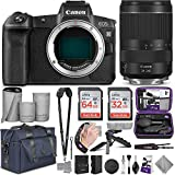 Canon EOS R Mirrorless Digital Camera Body with Altura Photo Complete Accessory and Travel Bundle
