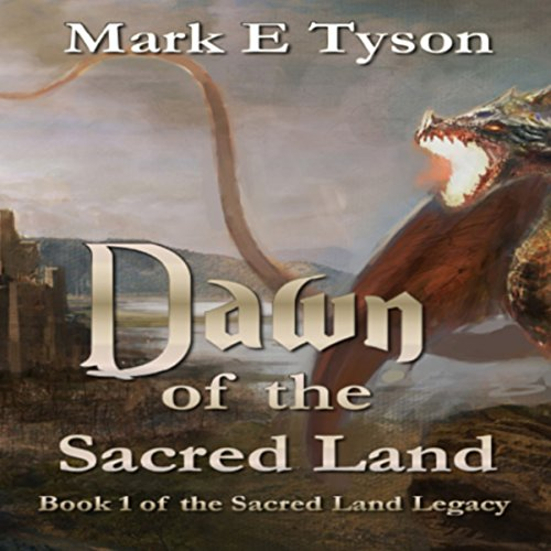 Dawn of the Sacred Land audiobook cover art