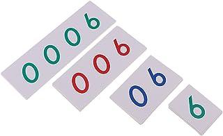 comprar comparacion Montessori Matemáticas Tarjetas Número 1-9000 para Niños Juguete Aprendizaje Temprano