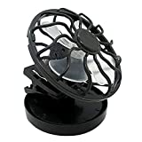Broadwatch 帽子キャップ装着型ソーラーファン