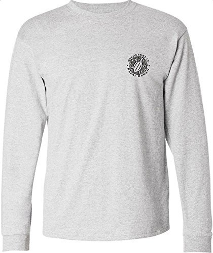 Koloa Surf Hawaiian Turtle Logo Long Sleeve T-Shirts in Regular