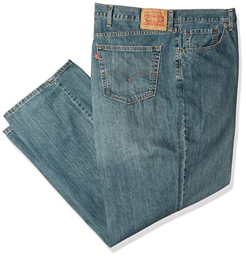 Levi's Men's Big and Tall 559 Relaxed Straight Jeans, Sub Zero, 60W x 32L