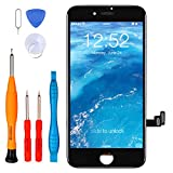 LL TRADER Screen for iPhone SE 2nd Generation 4.7 inch Display Replacement iPhone SE 2020 LCD Touch Screen Digitizer with Repair Tool Kits (Black)