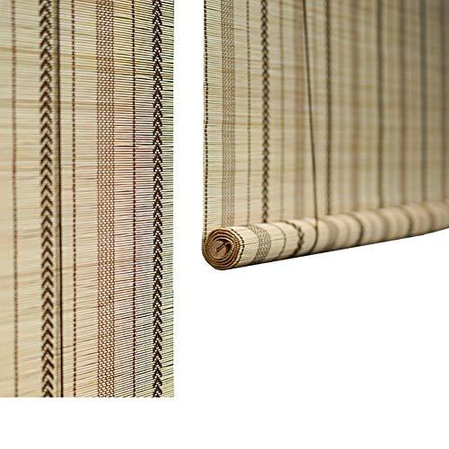 ZXL Roll Up Shade Rollos mit Beschlägen, Außerhalb Roller Schatten für Veranda/Terrasse/Deck/Pergola/Gazebo, Can Benutzerdefinierte Größe (Size : 120×160cm)