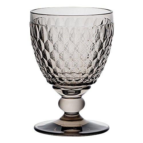 Villeroy & Boch Boston Clear Crystal clarets, Conjunto de 4, Humo, 1
