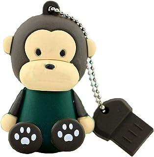 USB Flash Drive USB Flash Disk Memory Stick Thumb Pen Hi-Speed USB 2.0 Novelty Silicon Baby Cute Cartoon Animal Series Sit...