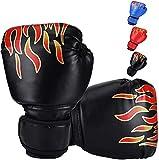 Ducomi - Guantes de Boxeo para Niños con Muñequera Ajustable, Protección de...
