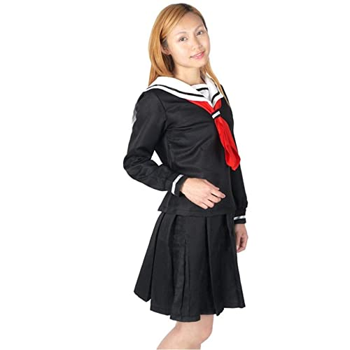 SSJ Womens Sailor School Uniform Dress Japanese Anime Lolita Sailor-Suit Cosplay Costume