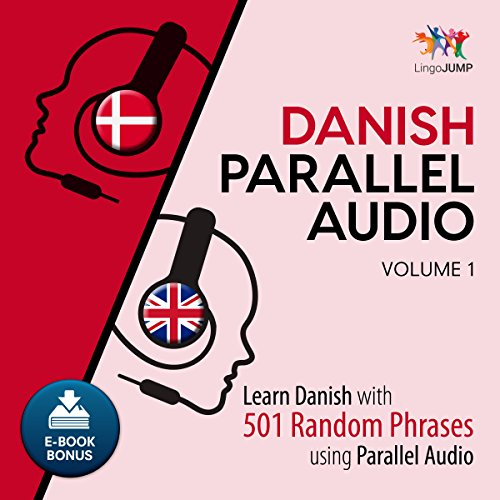 Danish Parallel Audio - Volume 1 audiobook cover art