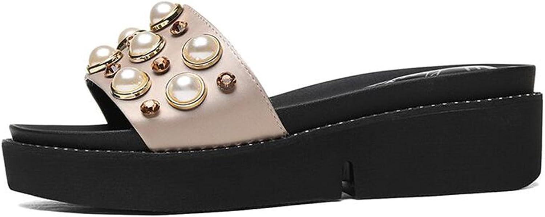 QIDI-sandalen Sommersaison Frau Modisch Schwarz Golden Hoher Absatz Einzelne Schuhe (Farbe   Gold, gre   UE36 UK4)