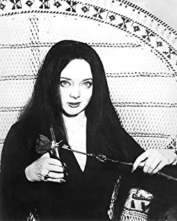 The Addams Family Carolyn Jones 8x10 Promotional Photograph in Chair