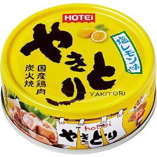 ホテイフーズ やきとり 塩レモン味70g