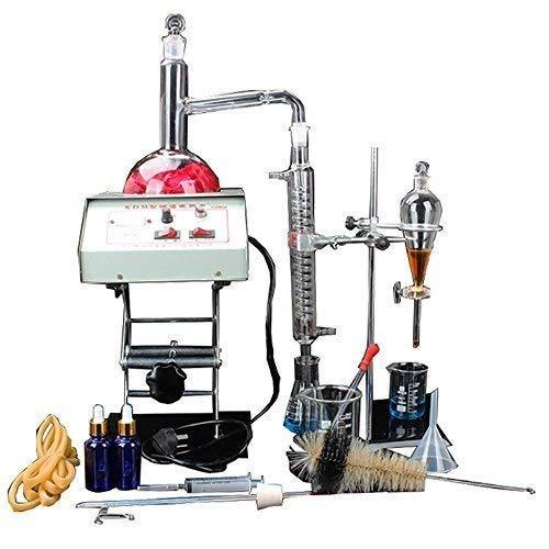 GDMIN Labor-Destillations-Ausrüstungs-Glaswaren-industrieller Wissenschafts-Distiller-Reinigungs-Herstellungs-ätherisches Öl-Alkohol-destilliertes Wasser-Filter-chemische Laborausstattung mit