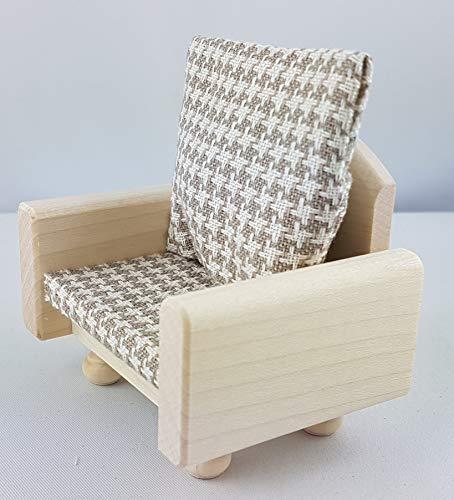 Rülke Holzspielzeug 22280 Puppenhauszubehör, holzfarben, braun, beige
