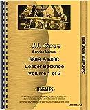 Case 680B 680C Tractor Loader Backhoe Service Manual (CA-S-680B,CTLB)