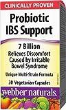 Best Probiotic For Ibs - Webber Naturals Probiotic IBS Support, 30 Vegetarian Capsule Review