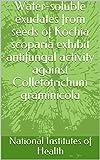 Water-soluble exudates from seeds of Kochia scoparia exhibit antifungal activity against Colletotrichum graminicola