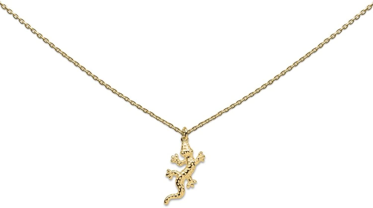 Heart to get Women Necklace Silver gold N289SAL16G
