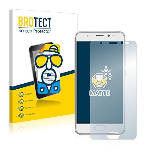 BROTECT 2X Entspiegelungs-Schutzfolie kompatibel mit Wiko U Feel Prime Bildschirmschutz-Folie Matt, Anti-Reflex, Anti-Fingerprint