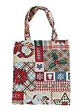 Bowatex Einkaufstasche Beutel Stofftasche Motiv Merry Christmas Weihnachtsstern 22 x 26 cm Shopper...