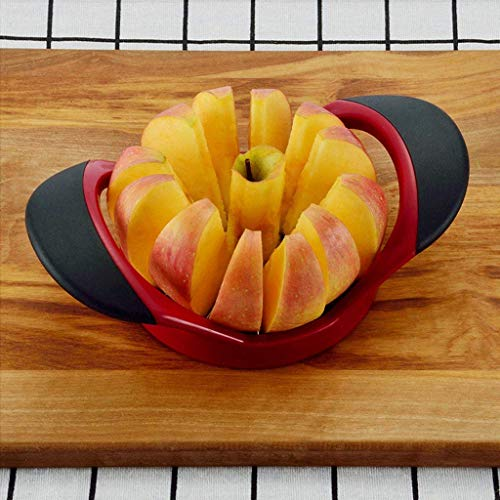 Ogquaton - Cortador de manzanas de cocina de calidad prémium, herramienta separadora de frutas y peras, pelador de mango cómodo