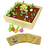 モンテッソーリ ニンジンボードゲーム 木製 ニンジン おもちゃ 知育玩具 男の子 女の子 3 4 5 6歳 誕生日 プレゼント 入園祝い ギフト