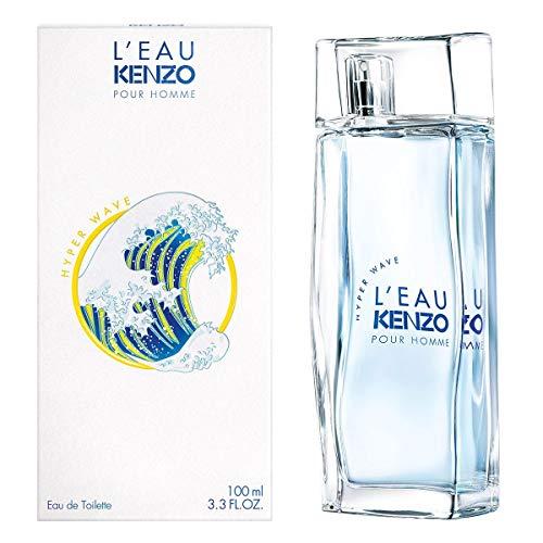 L' Eau Kenzo Hyper Wave para hombre / 100 ml Eau De Toilette Spray