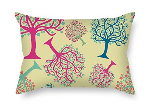 artistdecor 45,7x 66cm/45von 65cm Tree Überwurf Kissen beiden Seiten ist Fit für Paare Wohnzimmern Study Room Bar Küche BF