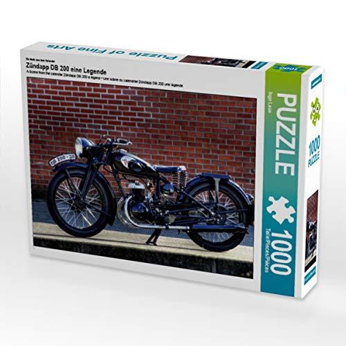 CALVENDO Puzzle Zündapp DB 200 eine Legende 1000 Teile Lege-Größe 64 x 48 cm Foto-Puzzle Bild von Ingo Laue