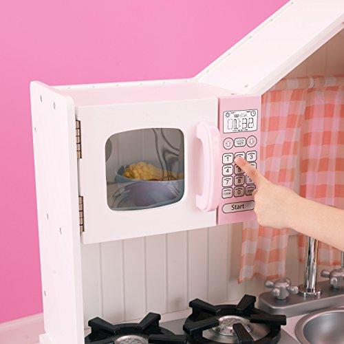 KidKraft 53222 Moderne Country Spielküche, Rosa und Weiß - 8