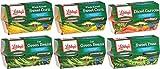 Libby's Microwavable Cups 4-4oz Cups (Pack of 6) Choose Vegetable Type Below (Sampler Pack)