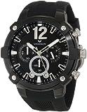 Viceroy 47633-55 Reloj cronógrafo de Goma Negra para Hombre